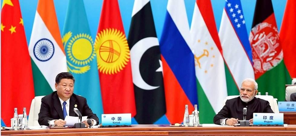 Qingdao SCO Summit: PM Modi shakes hands with Pakistan president (Photo Source: PTI)