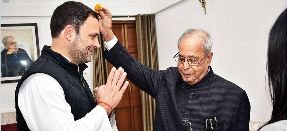 Pranab Mukherjee to attend Congress president Rahul Gandhi's Iftar event on June 13 (File Photo)