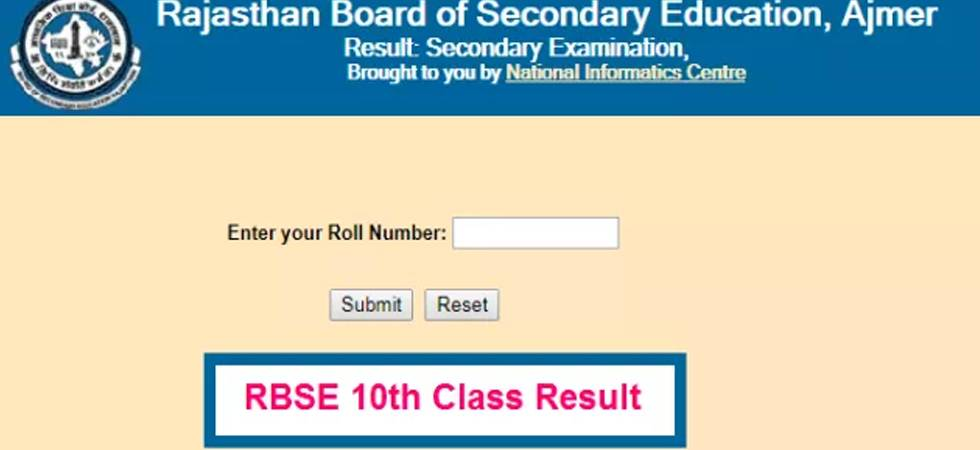Rajasthan Board RBSE 10th Result 2018 to be declared today at rajresults.nic.in