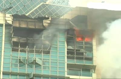 Massive fire engulfs Prabhadevi's Beaumonde Tower in Mumbai; resident Deepika Padukone says 'safe'