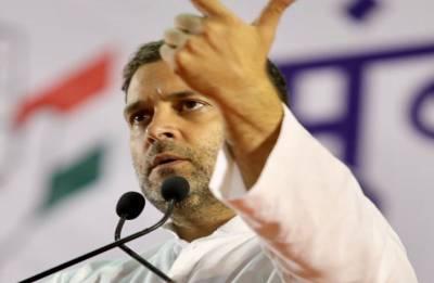 Grand alliance people's sentiment against BJP-RSS, says Rahul Gandhi