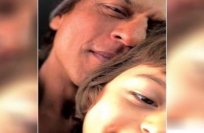 Eid Mubarak! Shah Rukh Khan, AbRam's cute selfie on this festive season will take your heart away! See in pic