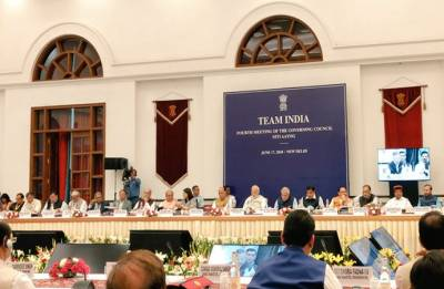 NITI Aayog Meeting: PM Modi calls upon CMs to work together on 'Agriculture and MNREGA'