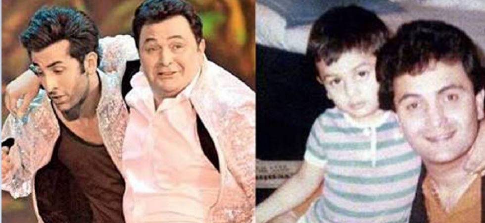 Ranbir Kapoor celebrates Father's Day; shares cute father-son moments (Photo Source: Twitter)