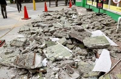 Strong earthquake jolts Japan's Osaka; three killed, scores injured