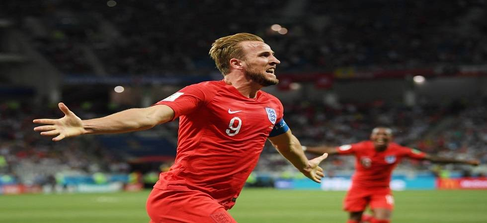 Harry Kane scored a last-minuted header to hand England their first win
