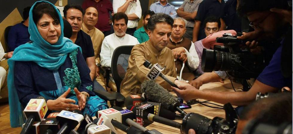 BJP dumps PDP in Jammu and Kashmir; Here is why (File Photo)