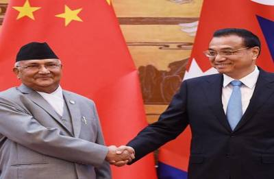 China, Nepal sign 14 agreements including key connectivity deals during Oli's visit
