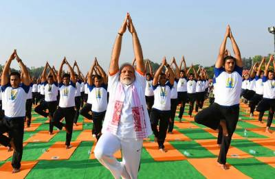 International Yoga Day 2018: Yoga 'powerful unifying' force in strife-torn world, says PM Modi