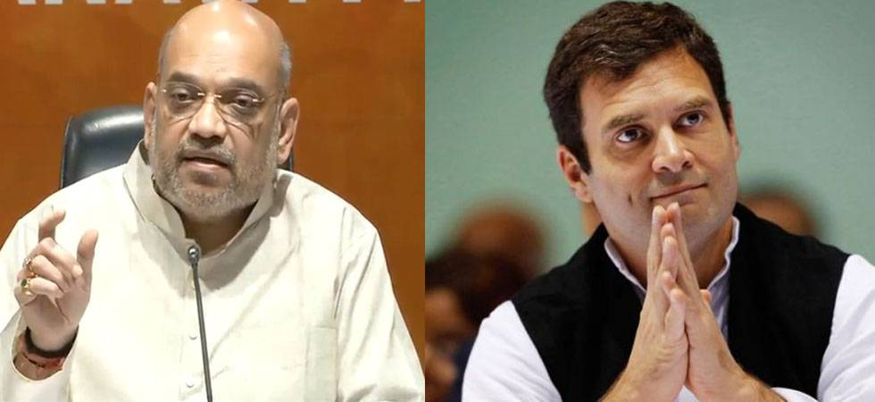 Explain 'frequency matching' between Congress and LeT: Shah to Rahul (File Photo)