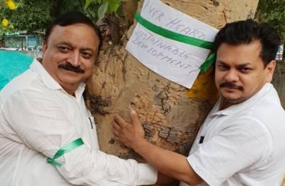 #DelhiChipkoAndolan: People protest against Centre's plan to cut 17,000 trees in Delhi