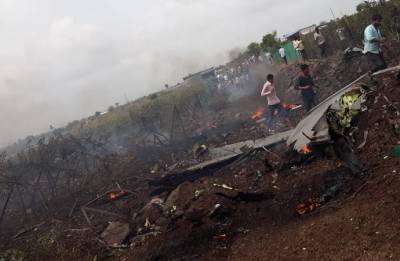 IAF's Sukhoi aircraft crashes in Maharashtra's Nashik, pilots eject safely