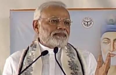 From 'gateway to hell' Maghar, Modi blows BJP's 2019 poll bugle in Uttar Pradesh