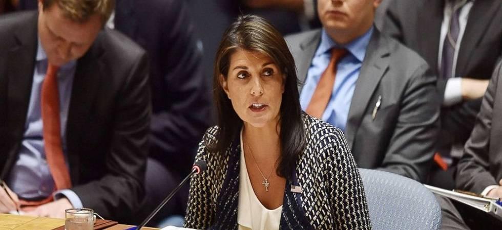 US Ambassador to the UN Nikki Haley in India (PHOTO: PTI)