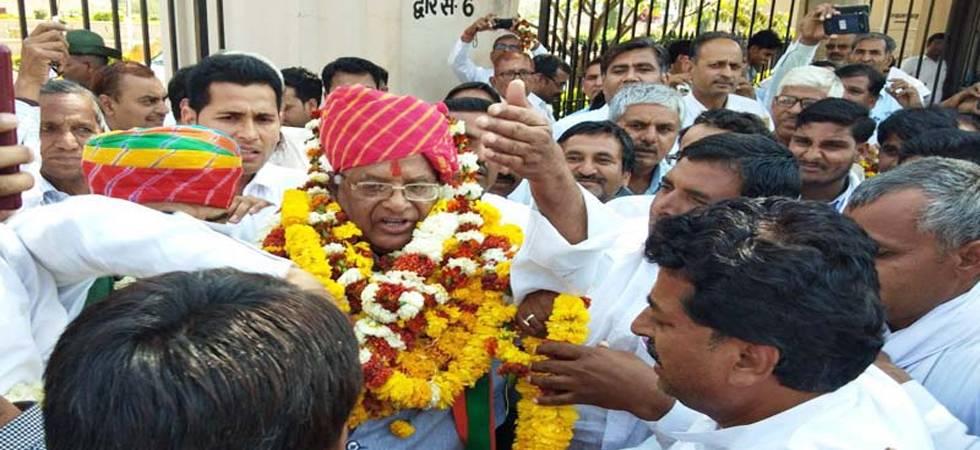 Madan Lal Saini appointed as Rajasthan BJP president (Photo: PTI)