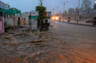 Flood alert in central Kashmir, 3 rain-related deaths in Jammu region