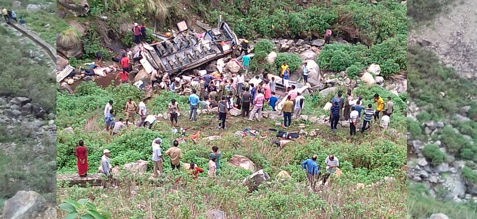 Uttarakhand: 40 killed as bus falls down in 700-feet deep gorge in Pauri Garhwal
