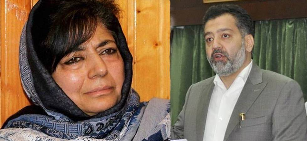 Cracks in PDP, former J-K minister accuses Mehbooba Mufti of nepotism (ANI Photo)