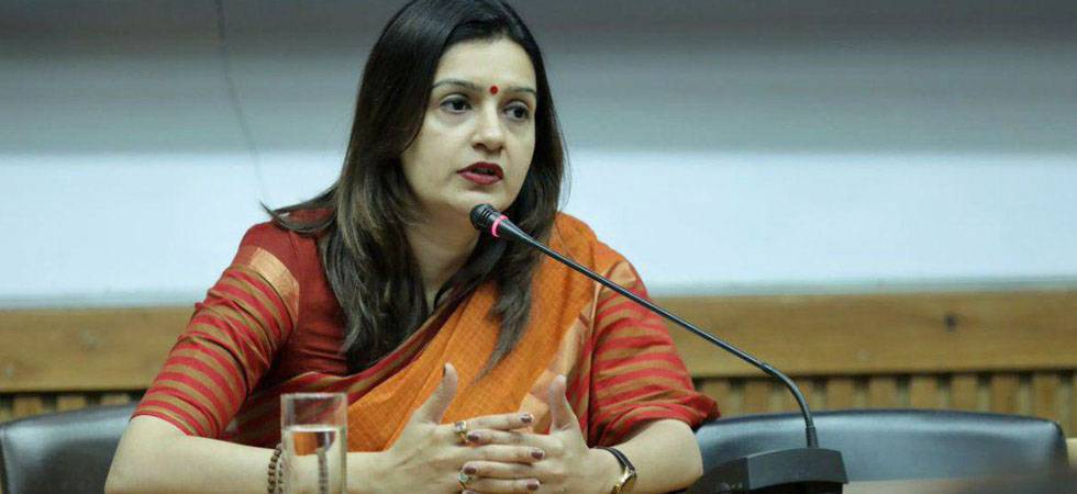 Cops register case over threat to Congress leader Priyanka Chaturvedi (Photo Source: NSUI Twitter)