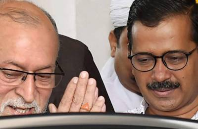 Cooperate with Delhi government, allow Arvind Kejriwal to work: Shiv Sena tells Centre