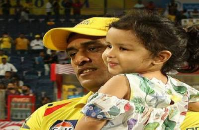 Papa you are getting older, daughter reminds Dhoni on 37th birthday