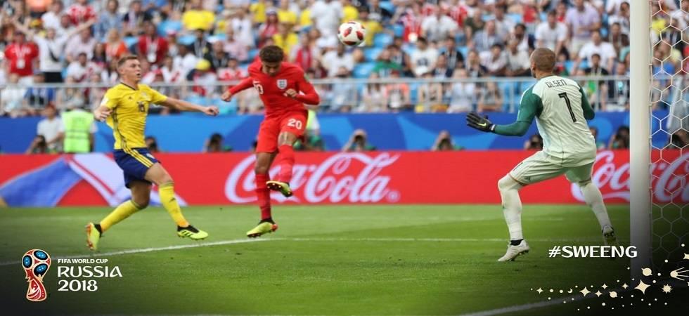 FIFA World Cup 2018 Live Score, Sweden vs England at Cosmos Arena in Samara