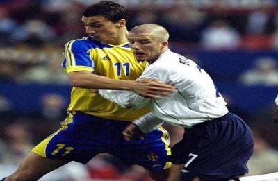 England vs Sweden: David Beckham, Ibrahimovic agree on mega bet