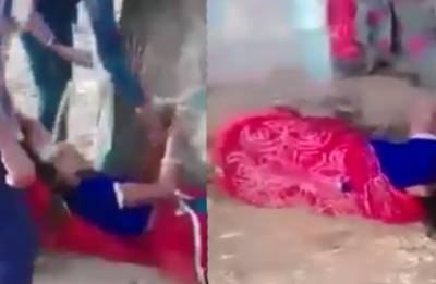 Shocking! Rajasthan woman tied to tree, beaten black and blue by relatives