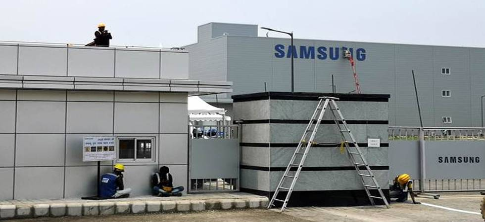 Samsung opens world's largest mobile phone factory in Noida (Photo: IANS)
