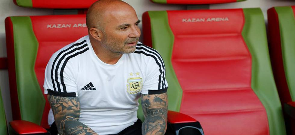 Argentina on the verge to 'sack' coach Jorge Sampaoli (Photo: Twitter)