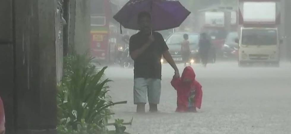 Mumbai Rains Live: Heavy downpour inundates city; traffic hit, schools closed (Photo: Twitter/ ANI)