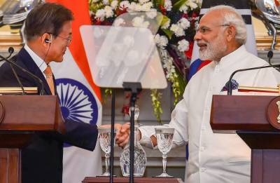 India will make efforts to ensure peace in Korean peninsula: PM Modi after bilateral talks with Moon Jae-in