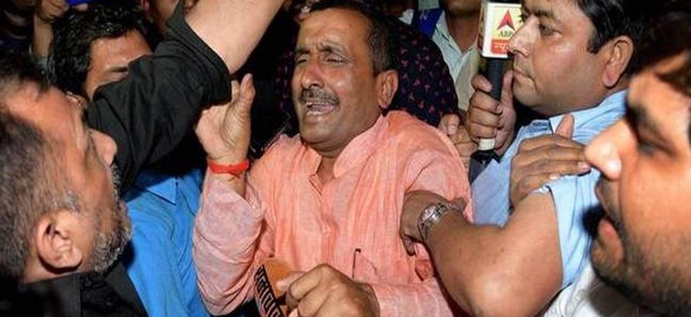 Unnao Gangrape Case: BJP MLA Kuldeep Singh Sengar charge-sheeted by CBI (File Photo)