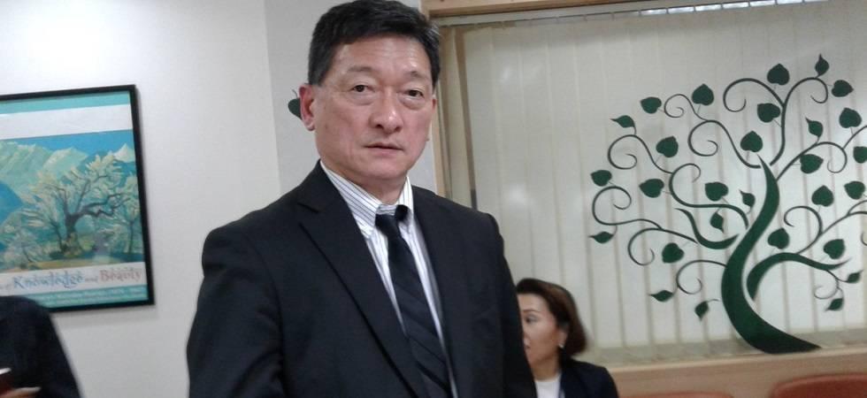 Consul General of Japan in Mumbai Ryoji Noda (Photo: Twitter)