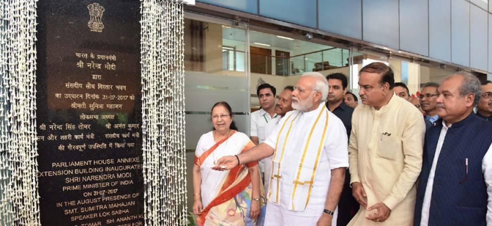 PM Modi inaugurates new ASI building in Delhi (Photo Source: Twitter)