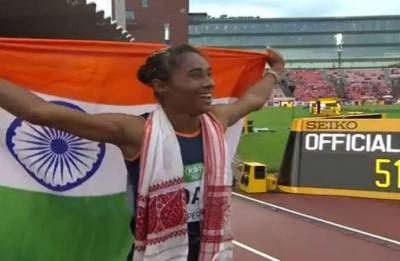 Hima Das scripts history, becomes first woman to win gold in World Junior Athletics Championships