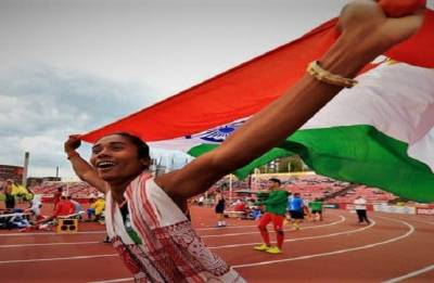 Athletics Federation of India refers to Hima's 'not so fluent' English, attracts severe backlash