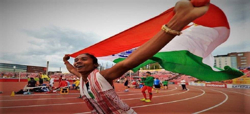 Hima scripted history by becoming the first Indian woman to win a gold at the IAFF World U-20 Athletics Championships (Photo: AFI)