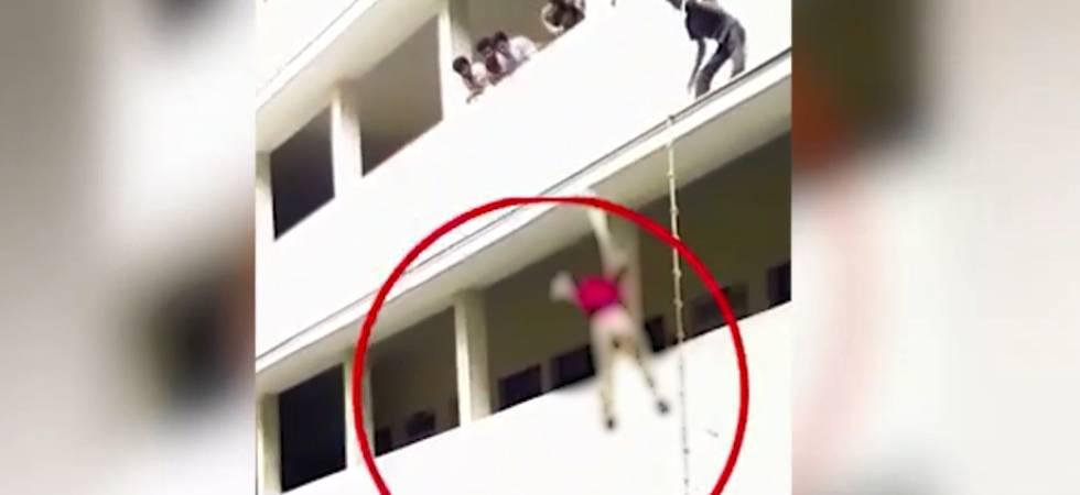Coimbatore college girl dies as 'NDMA mock drill' goes wrong (Video grab)