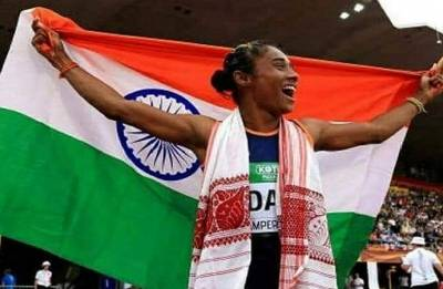 Assam erupts in joy over Hima Das' win in Finland