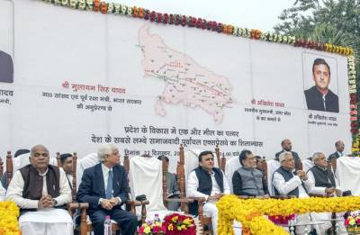 SP-BJP spar over Purvanchal Expressway launch by PM Modi today