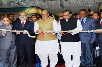 Rajnath Singh inaugurates world's largest visa centre in Bangladesh