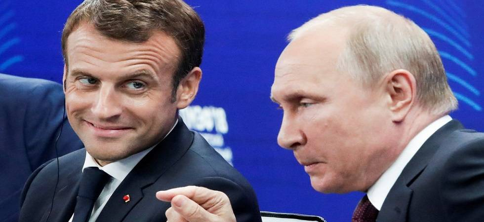 Macron congratulates Putin for hosting 'perfect' World Cup (Photo: Twitter)