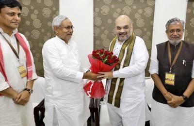 Despite Nitish-Shah bonhomie, seat sharing a challenge for NDA in Bihar