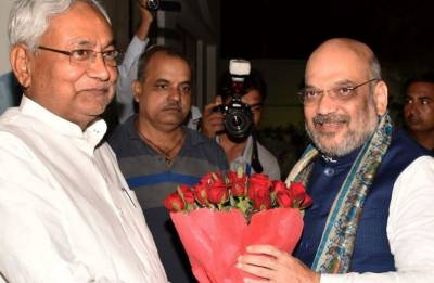 BJP to come up with seat-sharing proposal within 4-5 weeks: Nitish Kumar