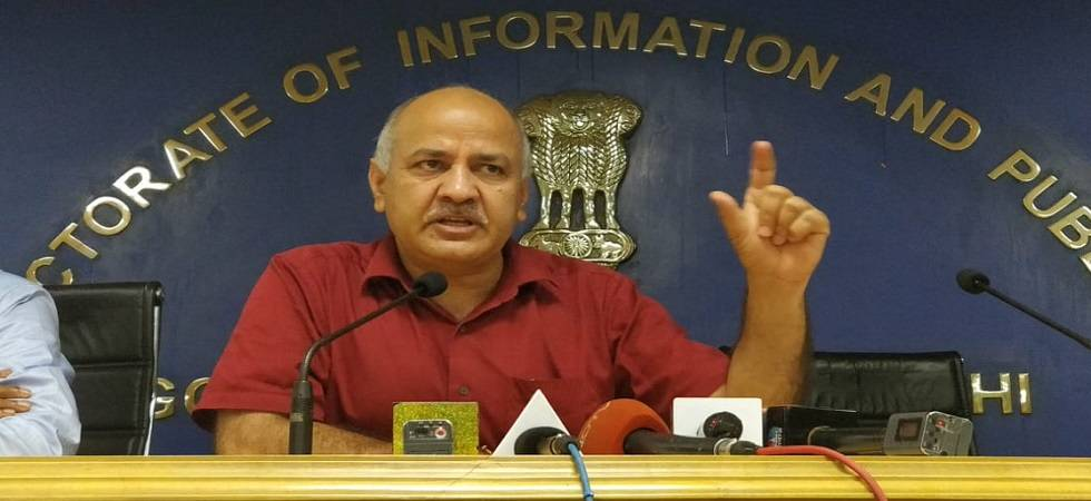 Delhi government to build over 12,000 rooms in its schools in one and half years: Manish Sisodia (Photo: Twitter)