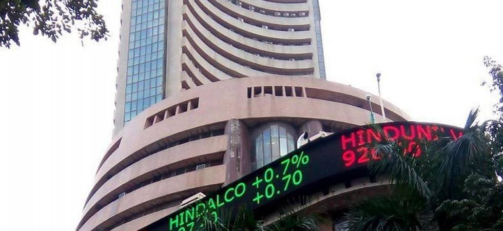 Sensex scales record high, Nifty holds above 11K