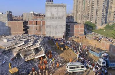 Greater Noida building collapse: Death toll rises to 9, CM Adityanath announces compensation
