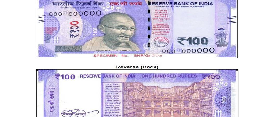 Reserve Bank of India to issue Rs 100 denomination banknotes in Mahatma Gandhi Series