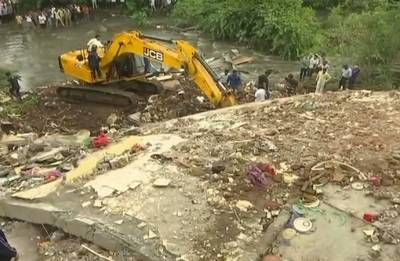Pune: Two-storey building collapses; Eight injured, one child feared trapped